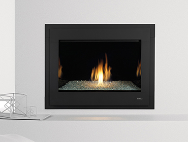 Heat and glo a wordpress site for Contemporary fireplace insert